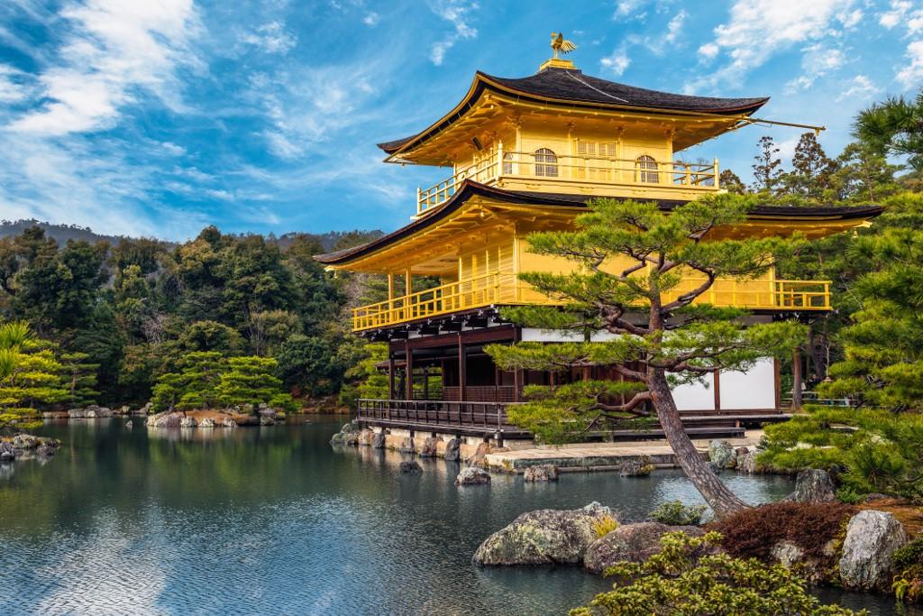 Kinkakuji Temple, Golden Pavilion